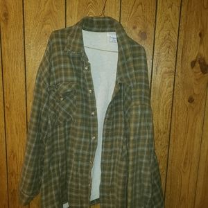 Thermal flannel jacket